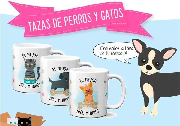 Tazas de perros y gatos | tazas personalizadas